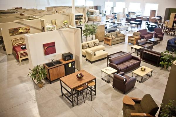 University Loft's Factory Outlet Public Sales Mean Huge Savings On Great Furniture
