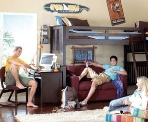 University Loft Student Furniture Makes College Life More Comfortable