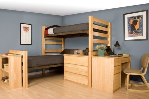Graduate Senior Crew Solid Wood Furniture for Student Dorm Rooms from University Loft