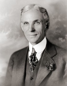 Public Domain Photo of Henry Ford from 1919