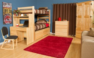 Graduate Series natural Bunk Bed