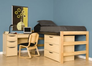 Greenfield Series Kensington maple Junior Loft