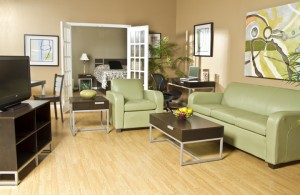 Windsor Series apartment with Kessler Upholstery