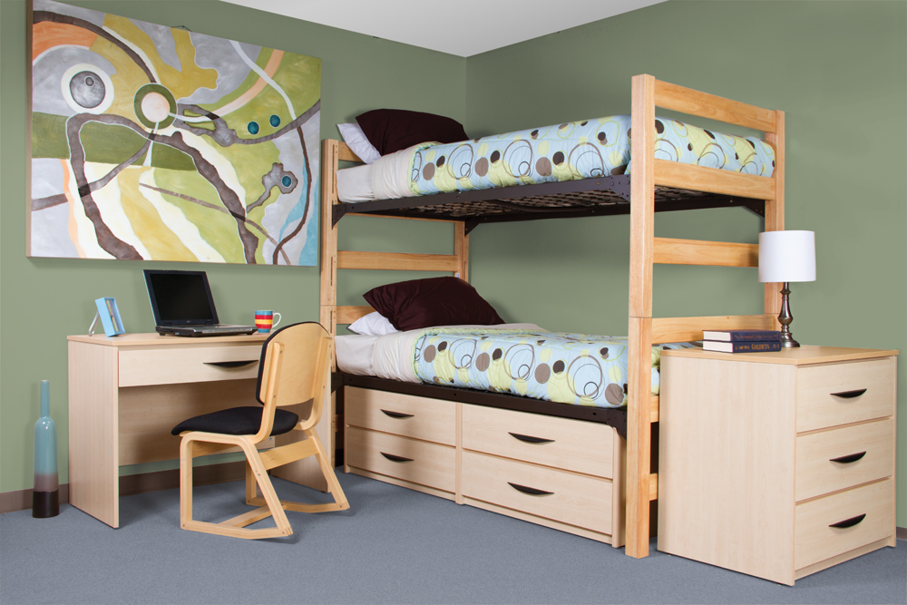 ... Student Housing Furniture. GreenfieldNaturalBunk_0056 72