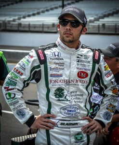 Bryan Clauson. Photo by Mark Goodin