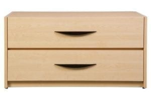 Greenfield 2 Drawer Chest Front-View