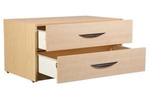 Greenfield 2 Drawer Chest Open Drawer