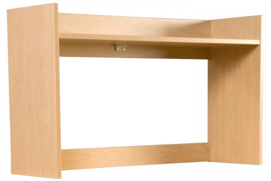 Greenfield Desk Carrel in Natural