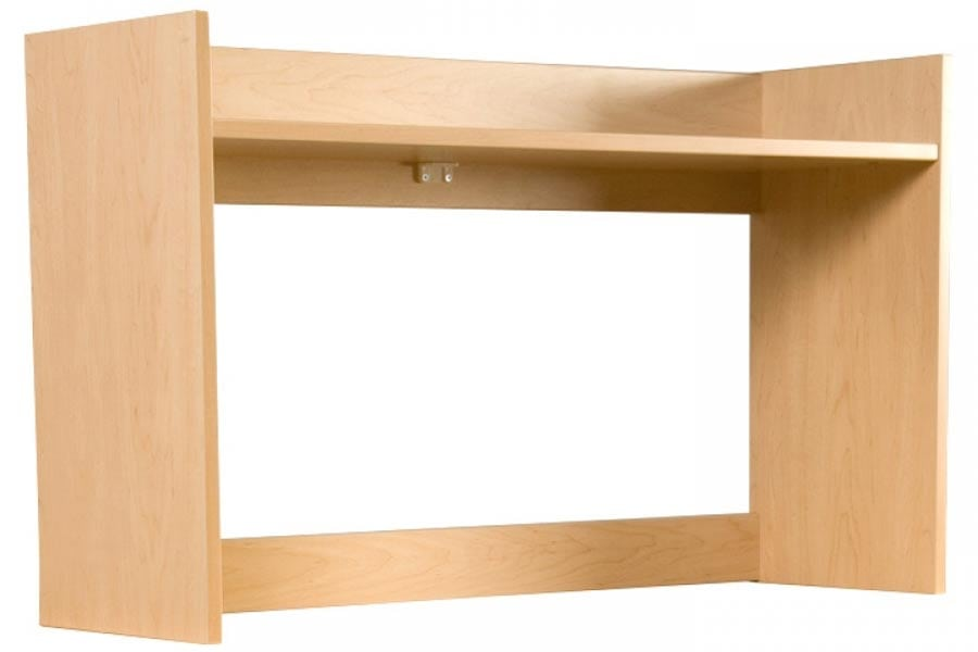 Greenfield Desk Carrel in Natural