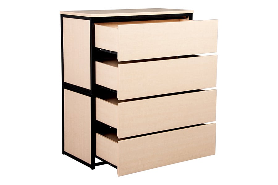 Uptown Express Stackable 2 Drawer Chest Drawers