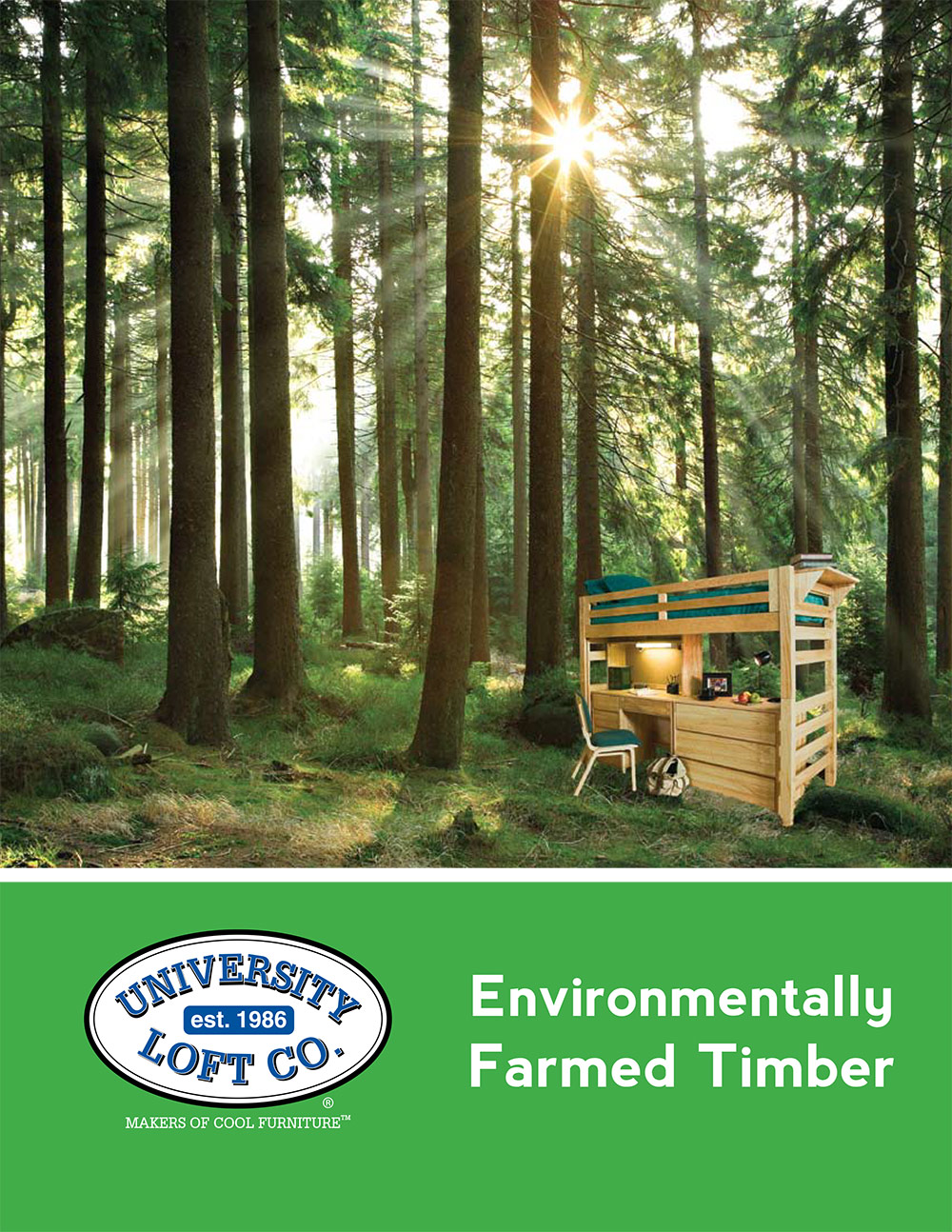 Environmentally Farmed Timber