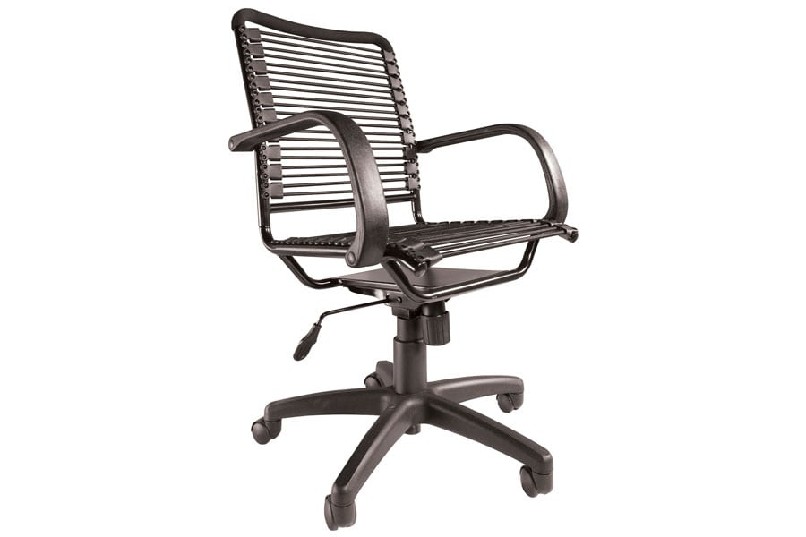 strap six star black randal back chair arms com bungee with ave dp amazon office