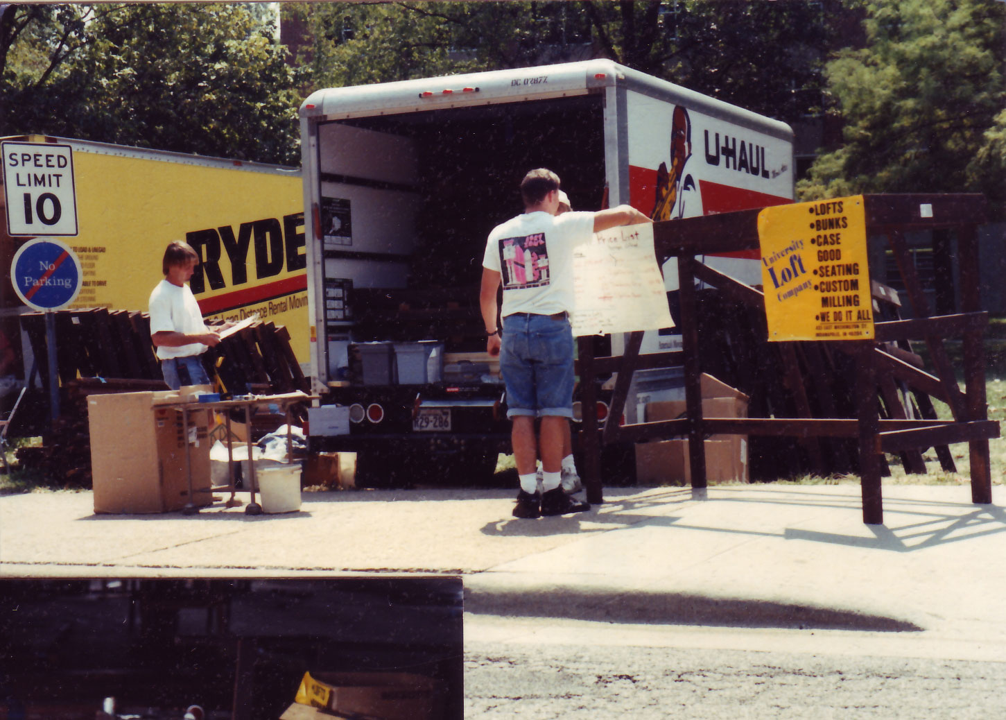 Selling out of Moving Trucks