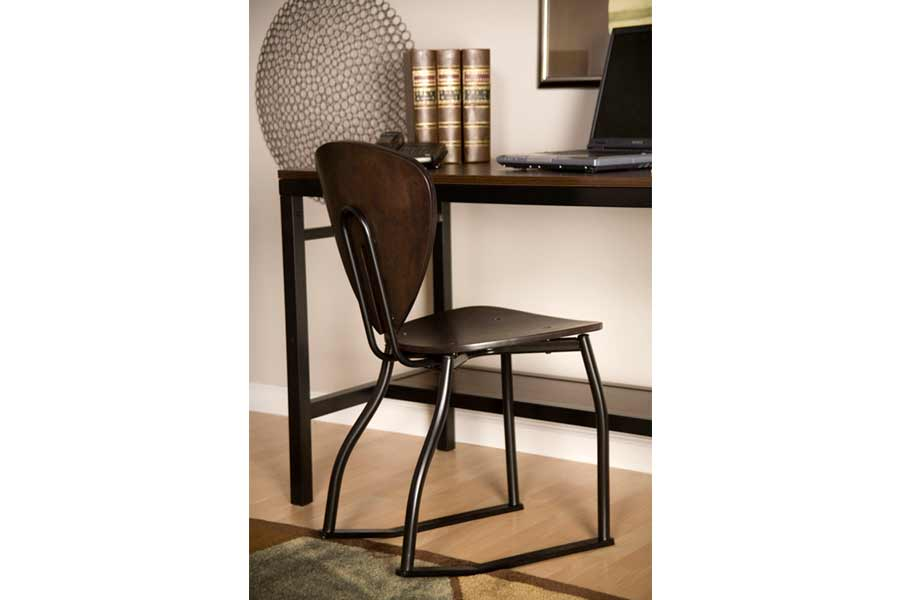 Espresso Teardrop 2 Position Chair University Loft Company